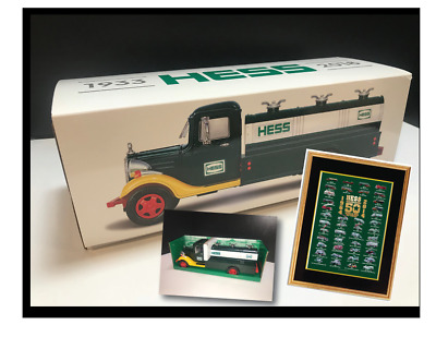 2018 HESS TOY TRUCK 85th ANNIVERSARY COLLECTOR'S LIMITED EDITION & 50 Yr Poster!