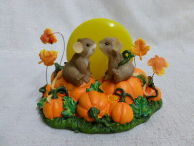 Charming Tails Your Kisses Brighten My Night 4023675 Fall Pumpkin Halloween