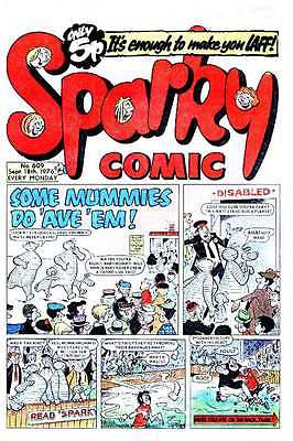 Classic Uk Comics/- The Sparky Dvd Rom Collection/155 Issues/14 Annuals