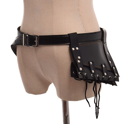 Medieval SCA Lace Up Sword Frog Holster With Belt Rapier Scabbard Holder Belt