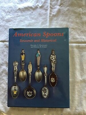 American Spoons- Souvenir and Historical, a broad look collectible spoons