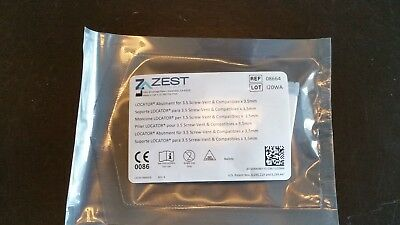 Zest Anchors Locator Abutment 3.5mm 08664 implant 3M dental screw vent w&h