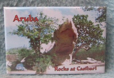 Rocks At Casibari Aruba Magnet Souvenir Travel Refrigerator