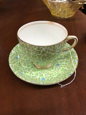 sampson smith old royal bone china cup and saucer