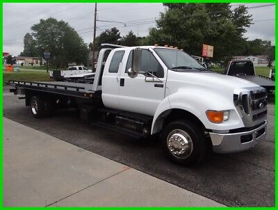 2013 Ford F650 Extra Cab Flatbed/rollback