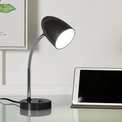 LED Desk Lamp Bedside Reading Office Student Work Table Bench Bedroom Nightstand