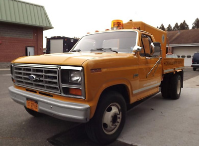 1983 Ford F-350  Original Ultra Low Mileage Utility body with Hobart welder