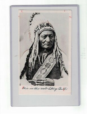 Rare 1880s Photo Lakota Sioux Native American Indian Chief SITTING BULL
