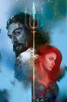 Aquaman #42 Middleton Variant Cover By Dc Comics Pre-Order 11/21/18!