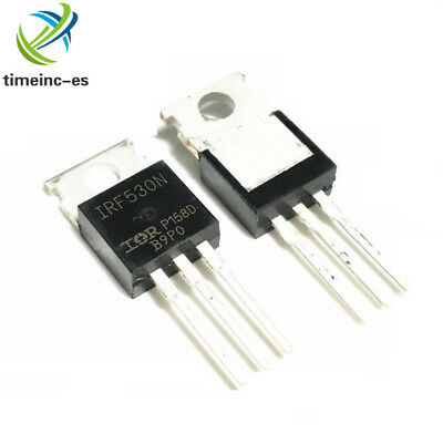 5PCS IRF530NPBF IRF530N IRF530 TO-220 IR Power MOSFET IC NEW