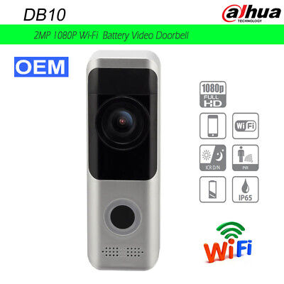 Dahua OEM DB10 1080P Battery WiFi Video Doorbell Intercom Enter Panel Doorphone