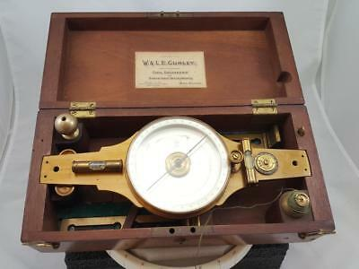 W & L.e. Gurley Surveying Compass Troy Ny C. 1910 Model # 225