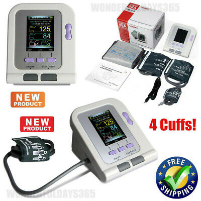 USA Blood Pressure Monitor NIBP 4 Cuffs Adult/Child/Infant/neonatal PC software