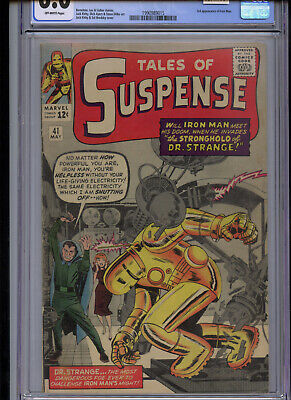 Tales of Suspense #41 CGC 6.0 3rd Iron Man Off-White Pages