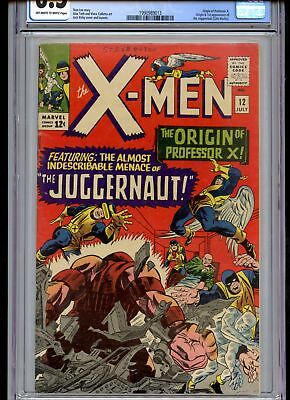 X-Men #12 CGC 6.5 1st Juggernat Off-White to White Pages