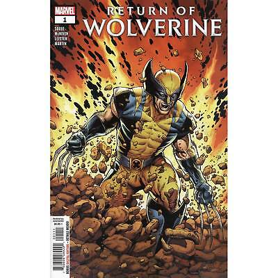 Return Of Wolverine #1 Marvel Comics Charles Soule Steve McNiven Cover A NM