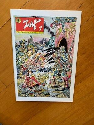 ZAP 9 Comix comic book Tenth Anniversary Issue 1978 mint condition