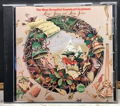 Living Strings and Living Voices Most Beautiful Sounds Of Christmas CD Holiday