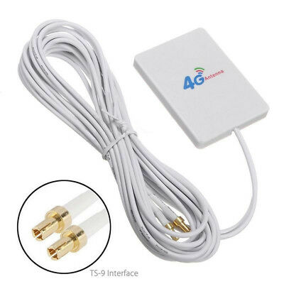 TS9 Connector 28dbi 4G/3G LTE Antenna Outdoor Signal Booster Router Receiver