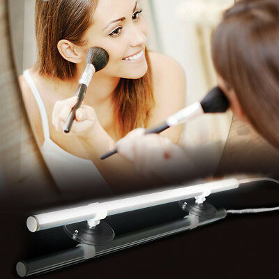 Vanity LED Mirror Light Kit For Makeup Hollywood Mirror With Dimmable Bulb HJA