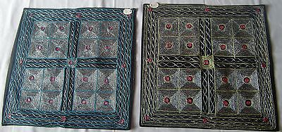 Beautiful Handmade Old Vintage Patch Work Cushions/pillow Cover India Fine Art17
