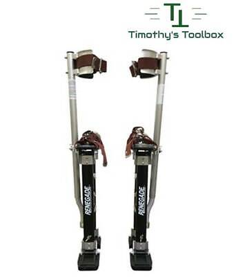 "Renegade Pro Drywall Stilts 18"" - 30"""