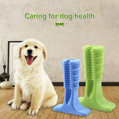 UK Bristly Brushing Stick Dog Tooth Cleaning Effective Toothbrush Oral Care HOT