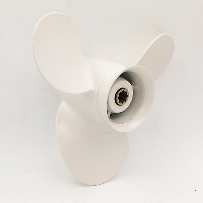 9 1/4X 9 3/4 P Aluminum Outboard Propeller For Yamaha 9.9-20HP 683-45952-00-EL