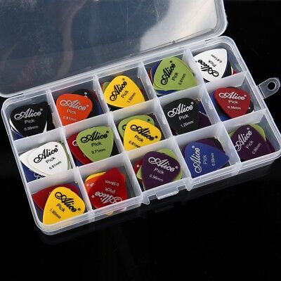 100pc /Set Guitar Pick Classical Folk Acoustic Pick Musical Instrument US
