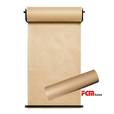 Wall Mounted Butchers Paper Holder Set Including 2 X 140M Paper Roll