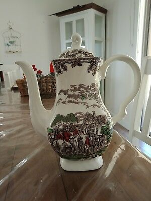 Staffordshire Jug made in England