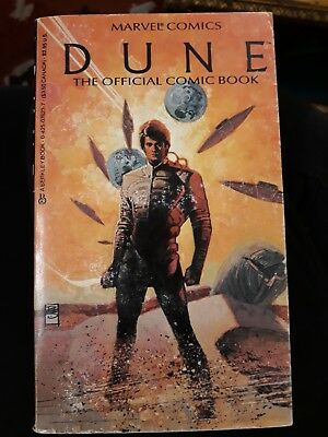 Marvel Comics DUNE The Official Comic Book Berkley Paperback David Lynch