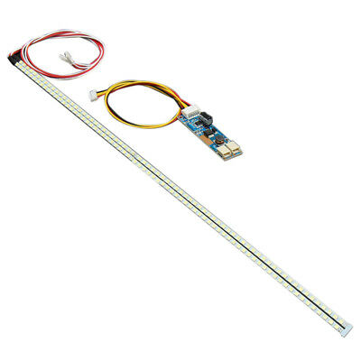1X(385mm LED Backlight Strip Kit CCFL LCD Screen to LED Monitor DC 10-30V B9W3)
