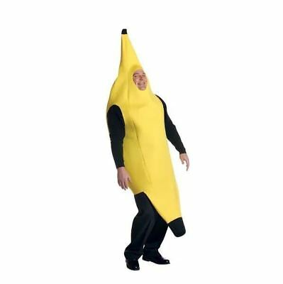 Book Week Men's Banana Body Suit UP Fruit Food Outfit Adult Fancy Dress Costume