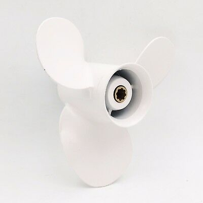 9 1/4X 10 P Aluminum Outboard Propeller 63V-45952-10-EL For Yamaha 9.9-20HP  .