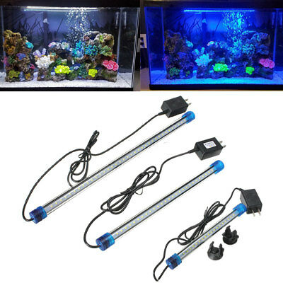 LED Acquario Pesce Tank Luce Sommergibile Strip Lampada 2835 SMD RGB Colore New