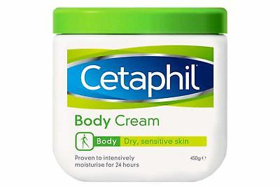 Cetaphil Body Cream for Women Smooth Moisturizer and Rehydrates Dry Skin 450 g
