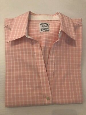 NWT BROOKS BROTHERS est.1818 WOMEN FITTED NON IRON STRETCH L//S SZ 2//4//6  $98.50