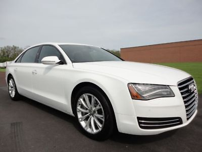 2012 Audi A8 A8L 2012 AUDI A8L NAV BUC BLUETOOTH LOADED V8 4.2 CLEAN CARFAX WE FINANCE MAKE OFFER