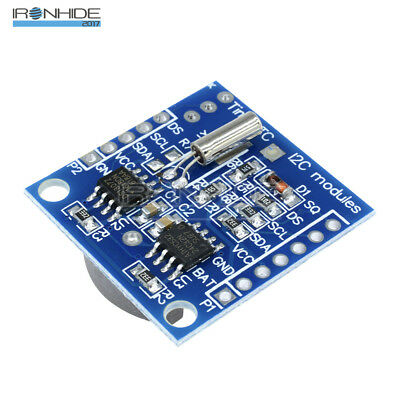10Pcs DS1307 I2C RTC AT24C32 Real Time Clock Module For Arduino AVR ARM PIC SMD