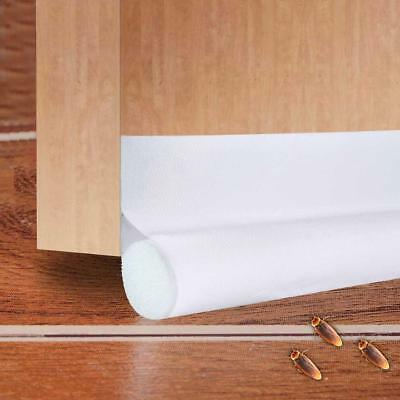 Under Door Sweep Weather Stripping Draft Seal Strip Noise Reduction Gap Stopper