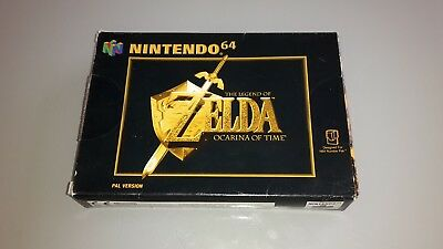 Zelda Ocarina of Time - N64 - Nintendo 64 Game - Boxed with Manual - PAL