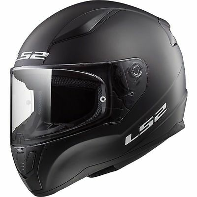 Casco Integrale Ls2 Rapid Solid Nero Opaco Ff353