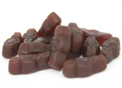8kg ALLSEPS CHOC BABIES CHOCOLATE JELLY BABY BROWN CHICO BULK LOLLIES CANDY
