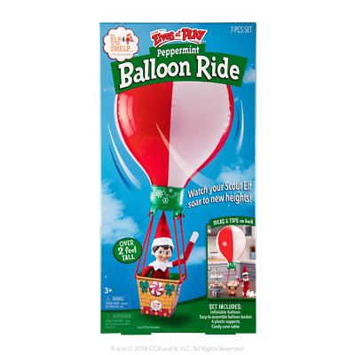 Elf on the Shelf Scout Elves at Play® Peppermint Balloon Ride (Elf Not Included)
