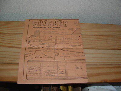 Vintage Meccano Plan Sheet For The Cracker