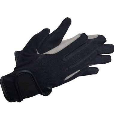 Riders Trend Kids Everyday Riding Gloves. 4 way spandex. Size CL
