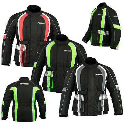 Motorbike Jacket Waterproof Motorcycle Textile Codura Coat Racing CE Armoured