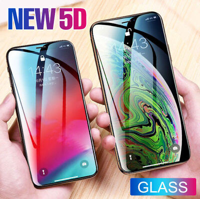 For iPhone X/XS, XR, iPhone XS Max TPU Flim,  5D Tempered Glass screen protector