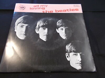 The Beatles - All My Loving! 1973 Apple Ap-4571 33 Compact Ep Japan P/s Nm!